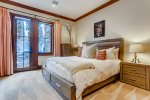 Ground Floor Guest Bedroom, King Size Bed, Walk Out Patio