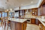 Gourmet Kitchen including High End Appliances