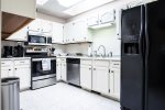 Our recently renovated kitchen has everything you need for making meals or snacks.