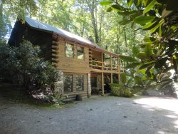 Ark- Enjoy Lake Junaluska and have a log Cabin Experience in the Mountains.