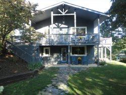 Serenity Hillside two bedroom rental on Lake Junaluska Assembly grounds