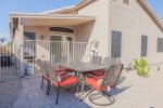 Brand new backyard oasis complete with heated/cooled pool, gas BBQ grill
