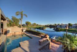 4BR Ocotillo Home, Golf and Lake Views, Pool Heater