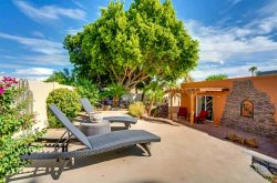3BR Scottsdale Home, Beautiful Backyard w/ Hot Tub, BBQ, Citrus Trees, Near Old Town