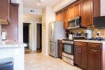 Updated fully furnished kitchen stainless steel appliances