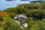 View of Brickyard Cove and Sisters Island, Williams Island, Pettingill Island and more