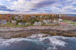 Watch the waves crash at this vacation homes rocky coast