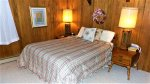 Main Level: Bedroom 1 with Queen Bed and private bath