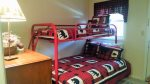 Enter into Bedroom 1 with Bunk Bed from back entrance