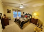 Main Level: Master bedroom with King bed