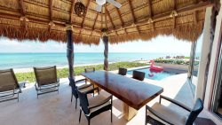 Spacious 4 BR Beachfront Villa w/Pool