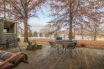 Spacious Private Deck with Stunning Lake View
