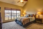 Master Bedroom with Gorgeous Lake View