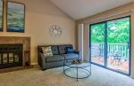 Living Room with Lake View & Sleeper Sofa