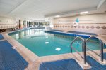 Large, Heated Indoor Pool