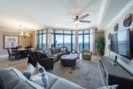 Stunning Views Open Living & Dining Area