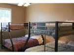 Bunk Room, double bottom/twin top bunk beds