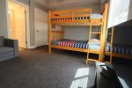Bedroom 3/Full bunks/child size sofa bed