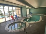 INDOOR POOL AND HOT TUB  - LEGACY TOWER 2