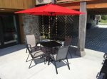 Personal Patio with BBQ and Seating for 4