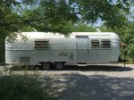 The Silver Fox Refurbished vintage Airstream mid-May to mid-October weather dependent.