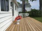 Great Deck overlooking Lke Ontario - perfect for your morning coffee