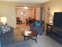 BEAUTIFUL fully furnished 2 bed/2bath! Courtyard View! #126