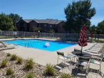 GREAT amenities  Beautiful pool and 24 Fitness room