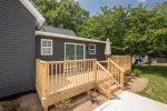 Look at that back deck It is a great space for grilling, enjoying music and/or conversation in the great outdoors of Greenville ,South Carolina