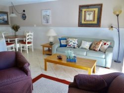 Come stay at this ADORABLE 2 bedroom 2 bath Villa in Surfside Beach!