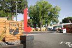 The Camp RV Park Entrance Bend Oregon