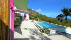 Paradise Solitude, Located on the East End of St. Croix!  Gated, private home with pool and ocean views!
