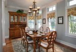 Formal Dining Room has gorgeous high ceiling