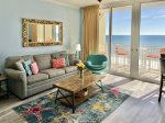 Living Area with Beautiful Views of the Gulf