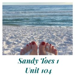 Fantastic Direct Beach Front Luxury Unit! Gorgeous Sandy Toes 1! Pelican Isle 104
