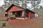 Valley Red Cabin – Barnes, Wisconsin