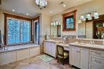 Master Bathroom Sinks and Tub