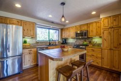 Large Bend home with ultimate privacy on 2.5 acres, enjoy feeling like you are living in the trees