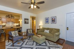 Relax in the beautiful and spacious condo, with room for your whole family.
