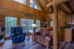 Beautiful Sunriver Log Cabin with Deschutes River Access, located just 25 minutes to Mt. Bachelor