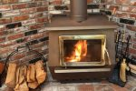 Wood Burning Stove for those that would like to use. The home also has central air and heat.