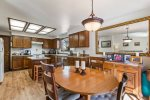 Great kitchen and dining area to enjoy meals together.