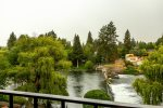 Lovely view from the balcony of the Deschutes River