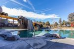 Lazy River pool with water slides for the family to enjoy