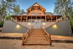 GRAND LUX cabin with infinity view on top of mountain!  6Bed/6Bath/Game Room/Sleeps 20