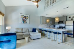 Nama-Stay in this newly renovated poolside 2-bedroom, 2 bath condo across the street from the beach sleeps eight.