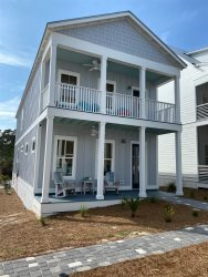 New construction home less then half 1/2 mile from the beautiful Emerald Coast beaches along 30A.