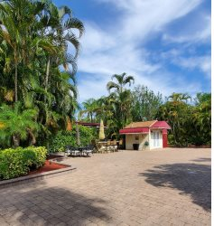 Lushly landscaped site ideal for outdoor relaxing!