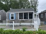 One of two cottages for families who rent together
