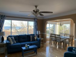 Enjoy Panoramic Ocean Views from this 2 BR / 1 BA Condominium